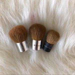 Three Peice Mini Kabuki Brush Bundle